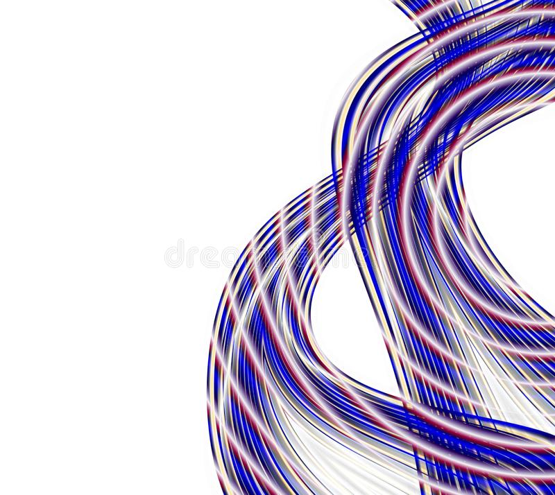 Cable connections royalty free stock photos
