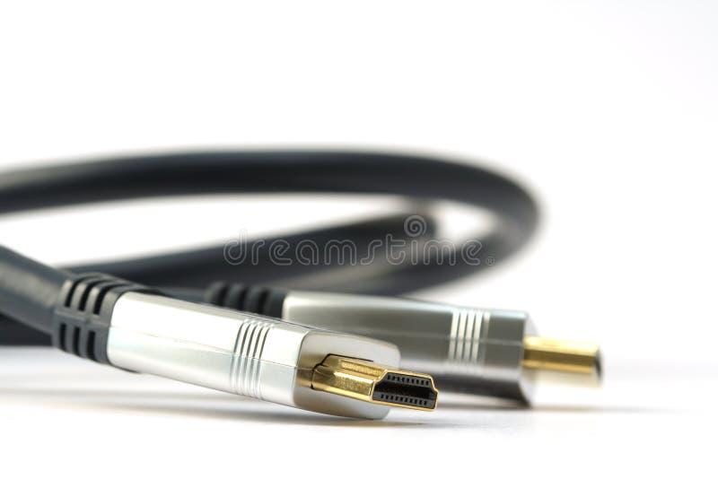 Download Cable de HDMI imagen de archivo. Imagen de tecnología - 7285633