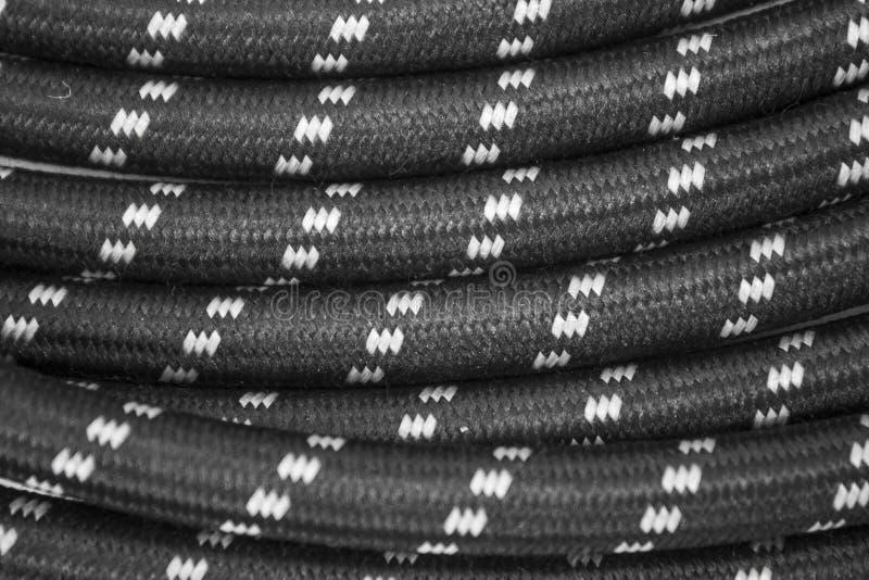 Cable de la guitarra fotografía de archivo
