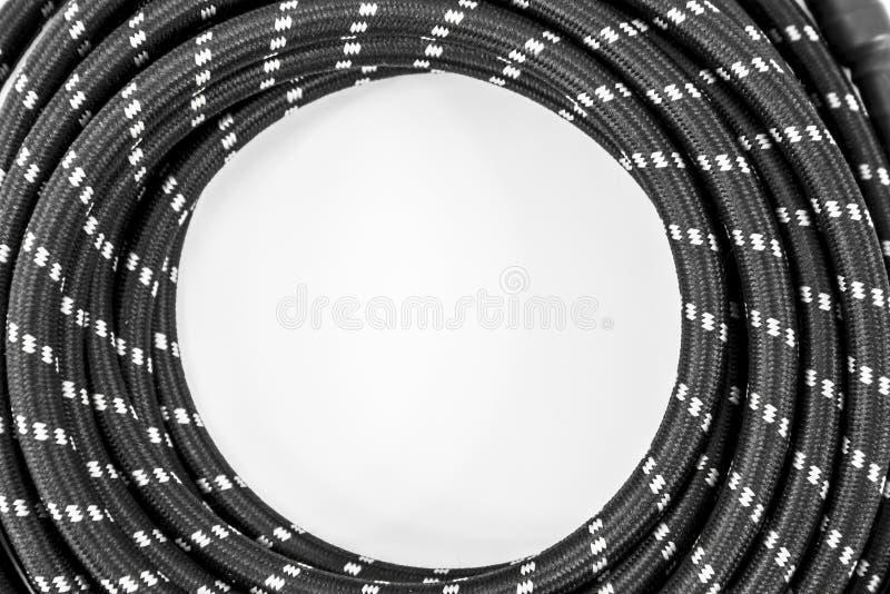 Cable de la guitarra imagen de archivo libre de regalías