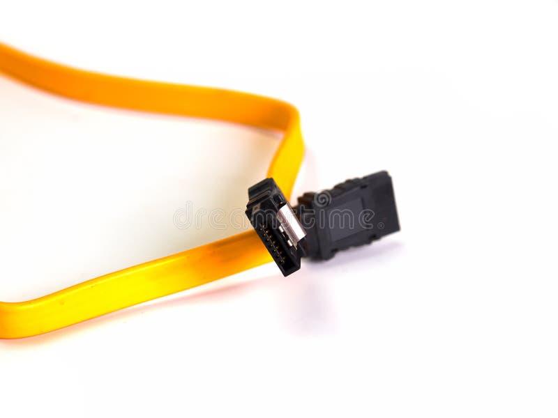 Cable de Serial ATA fotografía de archivo libre de regalías