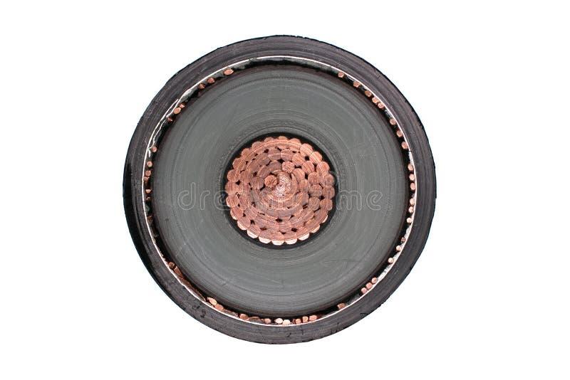 Cable de tensión foto de archivo libre de regalías