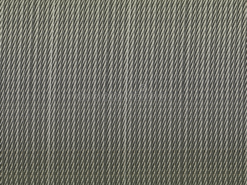 Cable del metal foto de archivo libre de regalías