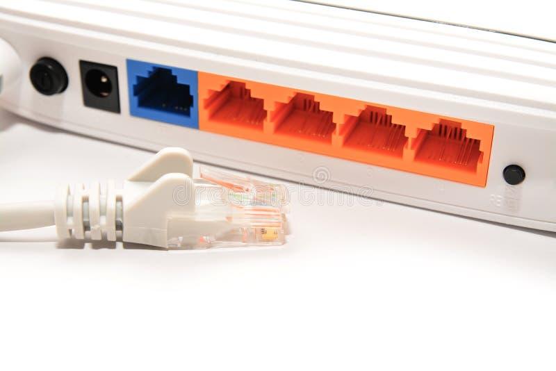 Cable desenchufado de la red foto de archivo libre de regalías