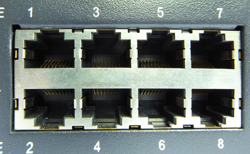 Download Cable & hub stock photo. Image of connection, automation - 6029020