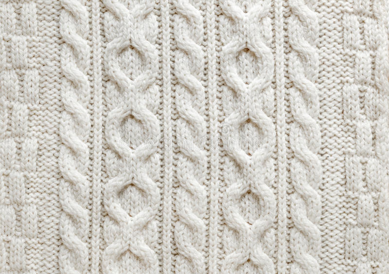 Cable Knit Fabric Background Stock Photo - Image: 43286209