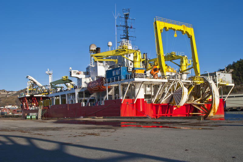 Download Cable-laying Vessel Royalty Free Stock Image - Image: 24004336
