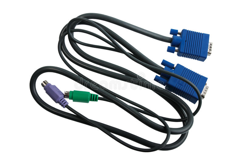 Cable for monitor commutation.