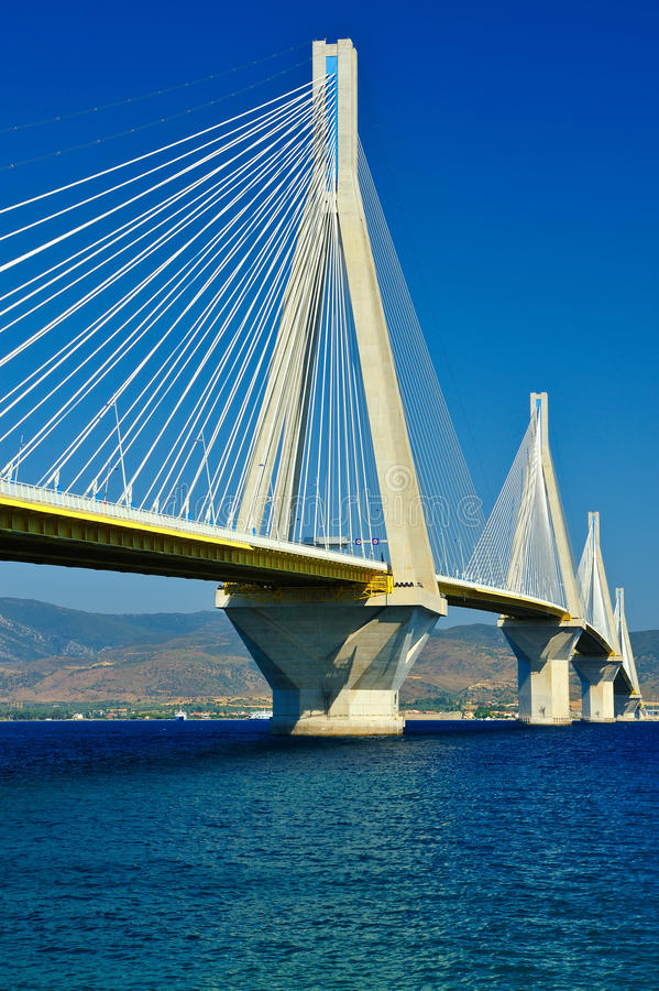 Cable-stayed Bridge Royalty Free Stock Photos