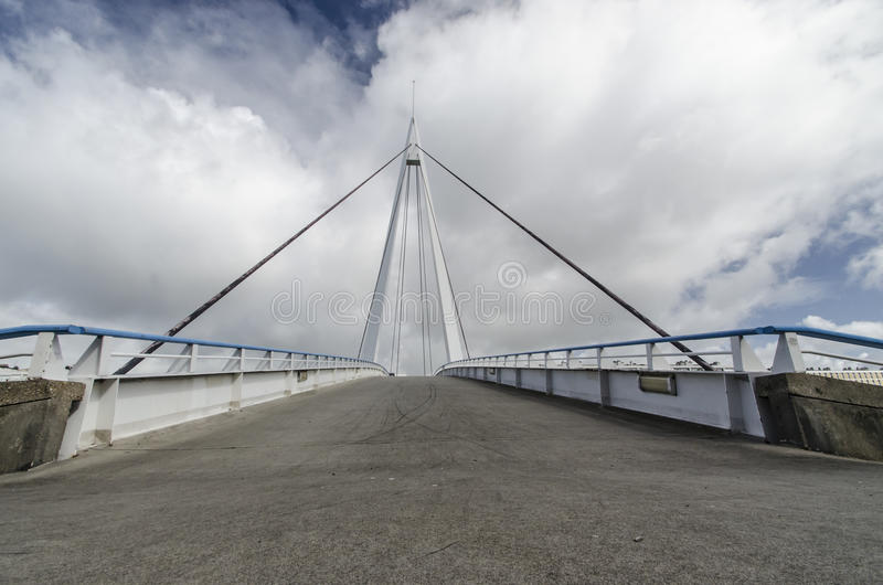 Download Cable stayed bridge stock image. Image of cable, construction - 28294101