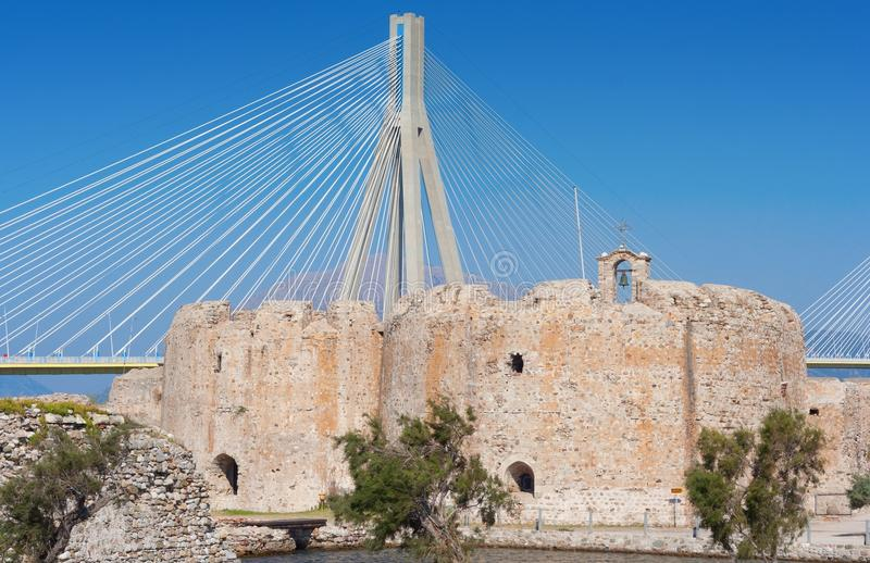 Download Cable Stayed Bridge,  Greece Stock Image - Image: 26836815