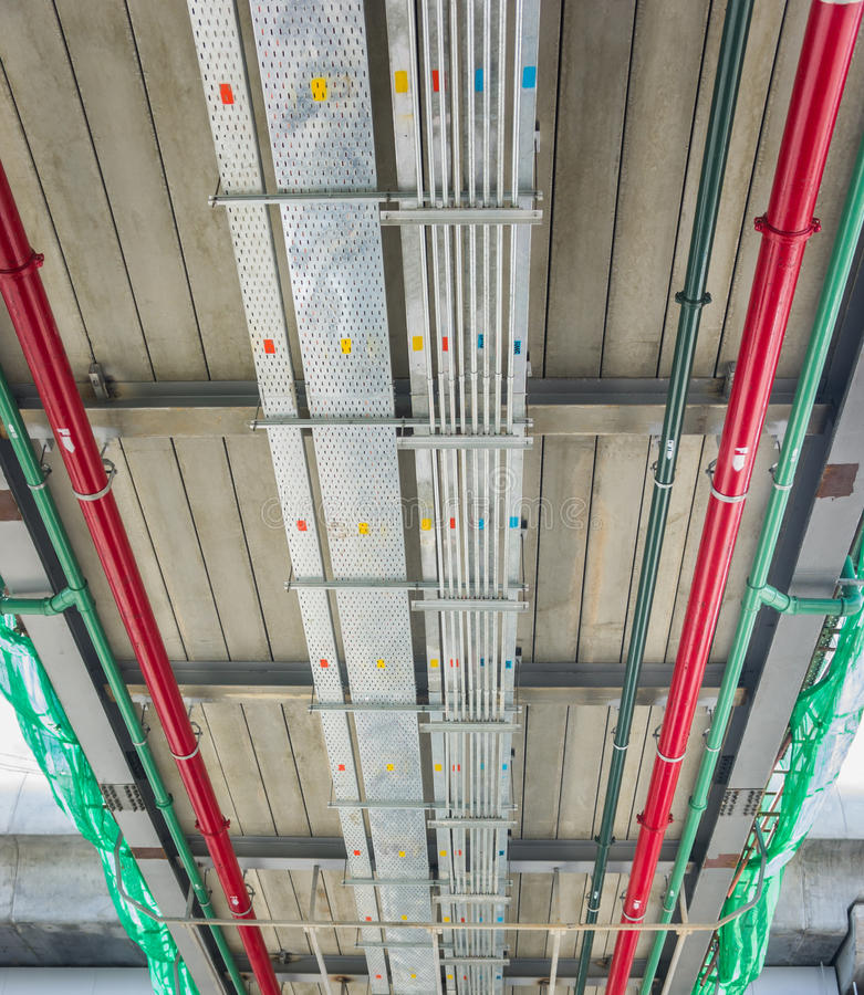 Free Cable Tray Stock Image - 44894861