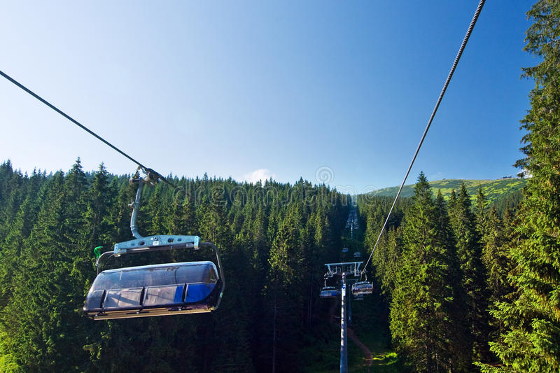 Download Cable Way In The National Park Low Tatras - Slovak Stock Photography - Image: 20513922
