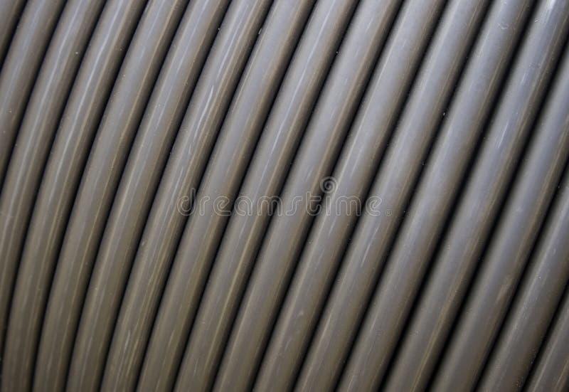 Cables de conexión resistentes fotografía de archivo