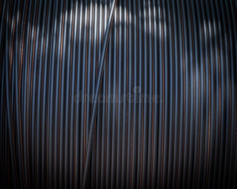 Cables de la construcción fotografía de archivo