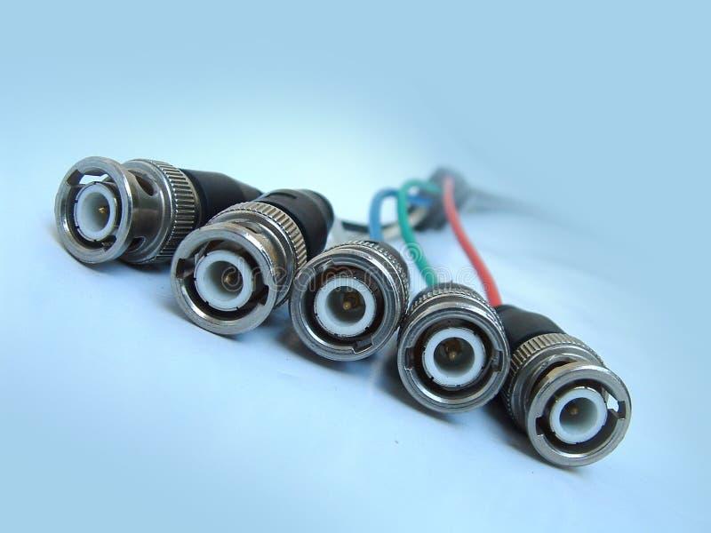 Cables especiales de la pantalla de ordenador fotos de archivo libres de regalías