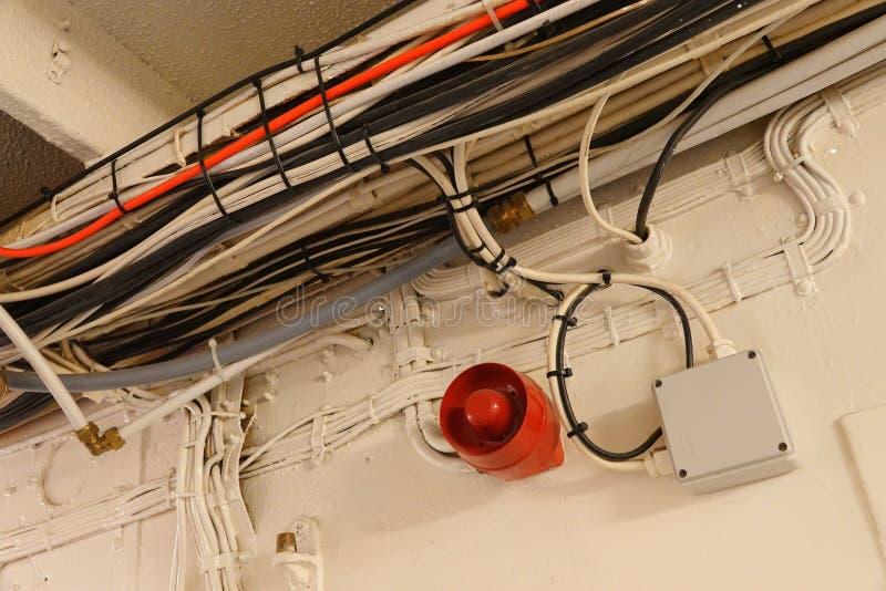 Navy Ship Corridor Stock Photos - Download 50 Royalty Free ... Ship Wiring on