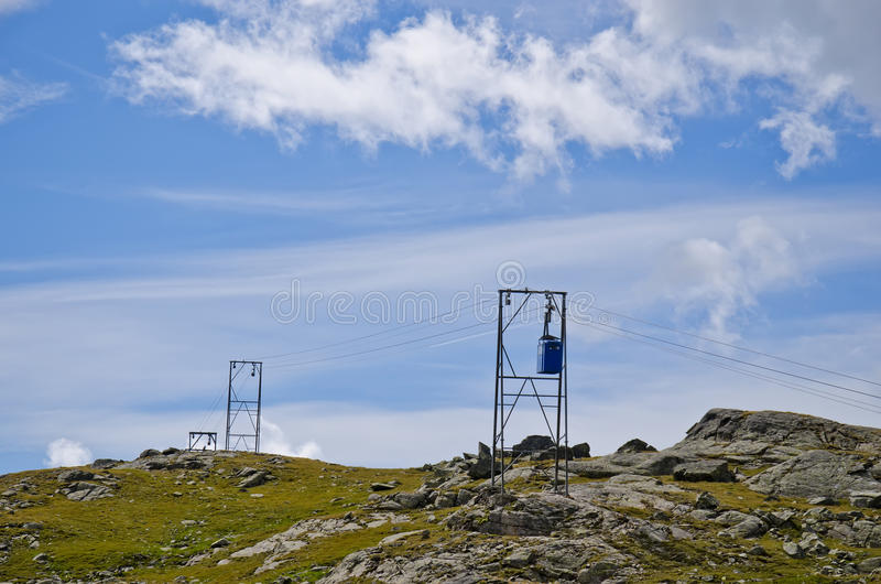 Download Cableway stock image. Image of cable, north, mountains - 20898587