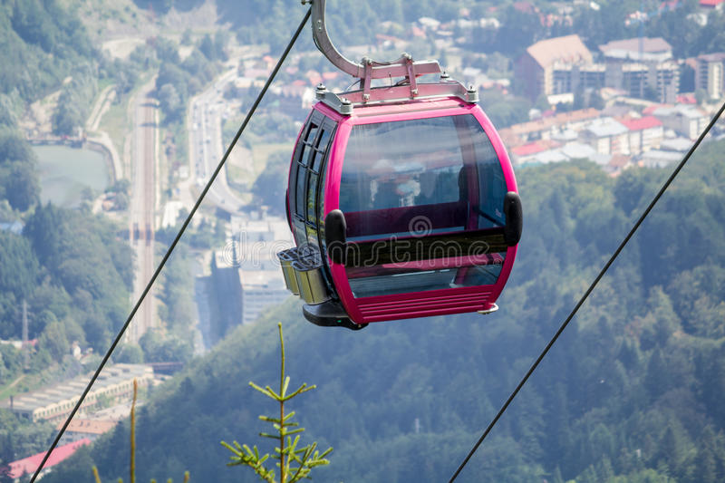 Download Cableway Cabin Royalty Free Stock Photo - Image: 26297565