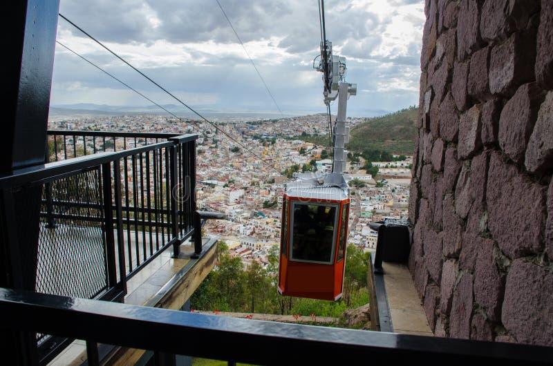 Cableway Zacatecas στοκ εικόνα με δικαίωμα ελεύθερης χρήσης