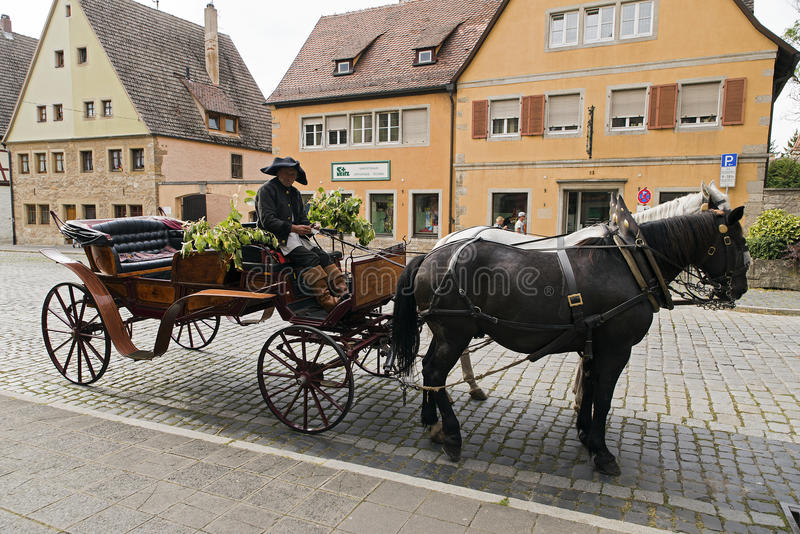 Download Cabman editorial image. Image of transport, city, rothenburg - 83704430