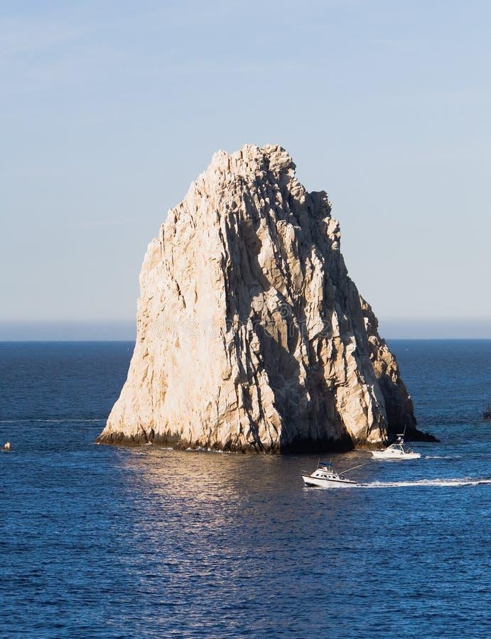 cabo末端登陆卢卡斯岩石圣 免版税库存图片