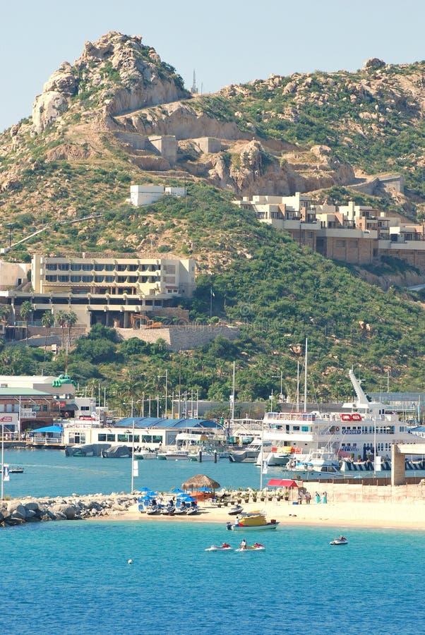 Cabo Сан Lucas, Мексика, на солнечный день стоковое фото rf