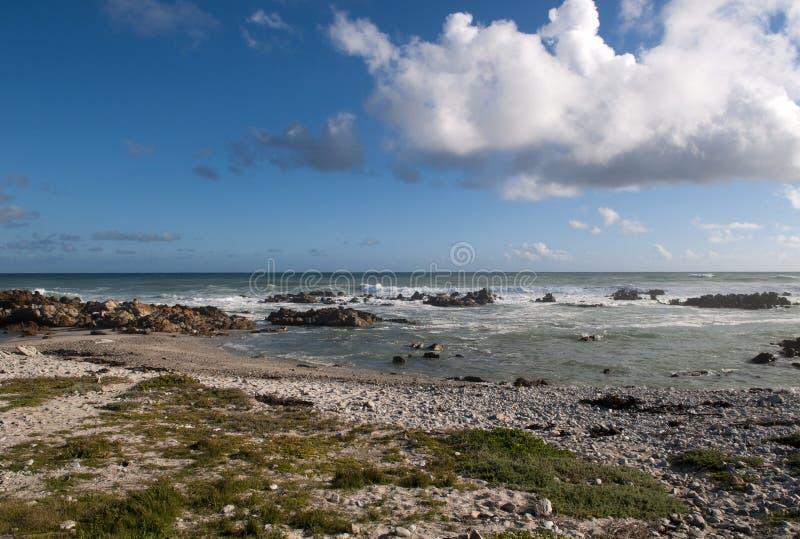 Cabo Agulhas, África do Sul. imagens de stock