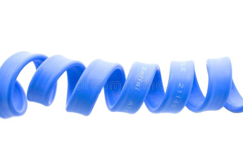 Cabo de série do azul do computador do ata