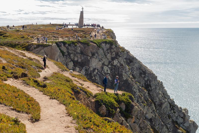 Cabo av Roca royaltyfri fotografi
