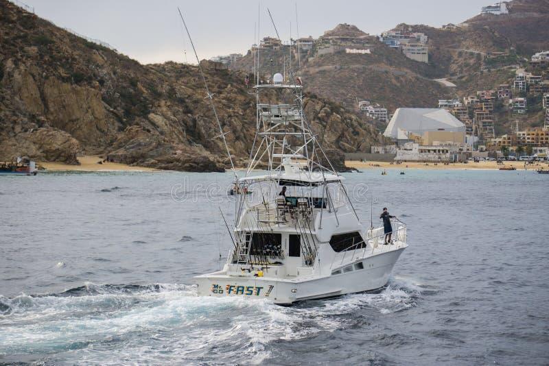 Cabo-Charter-Boot lizenzfreie stockfotos