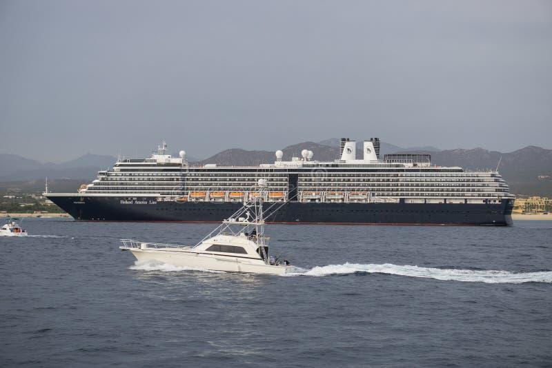 Cabo Cruise Ship royalty free stock photos