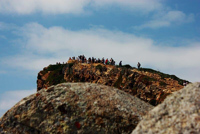 cabo da Portugal roca obrazy royalty free