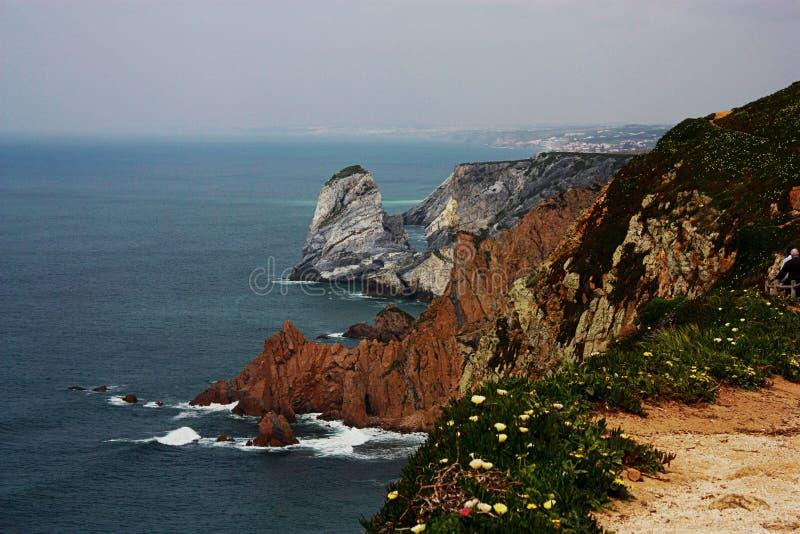 cabo da Portugal roca obraz stock