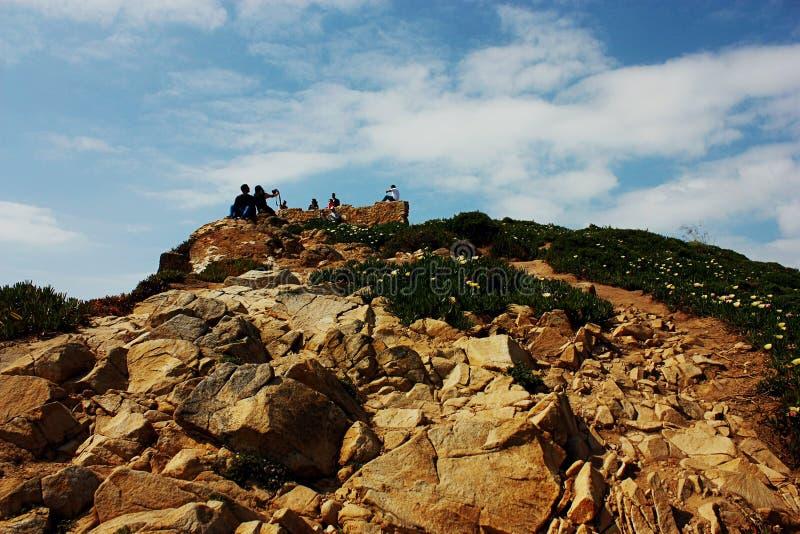 cabo da Portugal roca zdjęcia stock