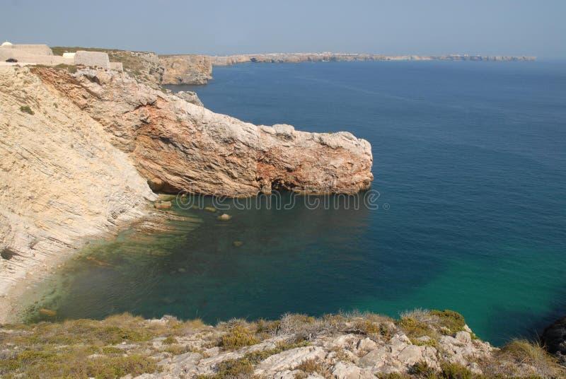 Cabo da Roca Португалии стоковые изображения