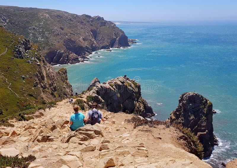 Cabo DA Roca stock afbeelding