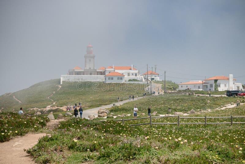 Cabo da Roca arkivbilder