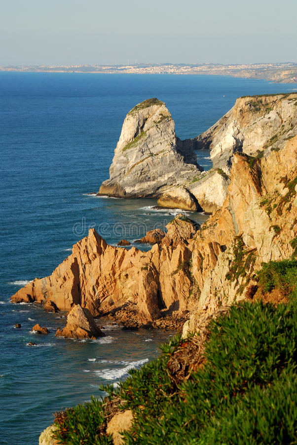 Download Cabo da Roca stock photo. Image of ocean, wall, west - 13557234