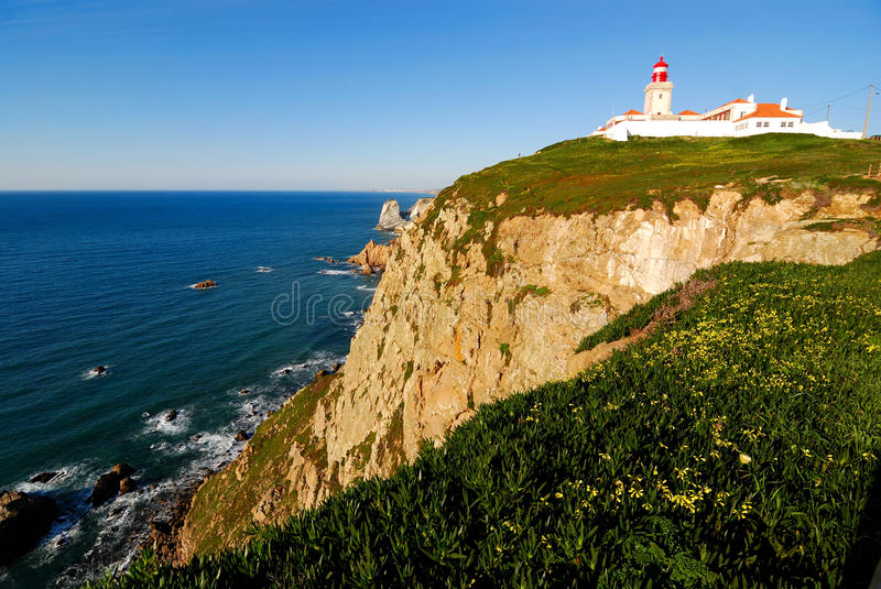 Cabo DA Roca photo stock