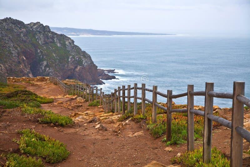 Cabo DA Roca foto de archivo