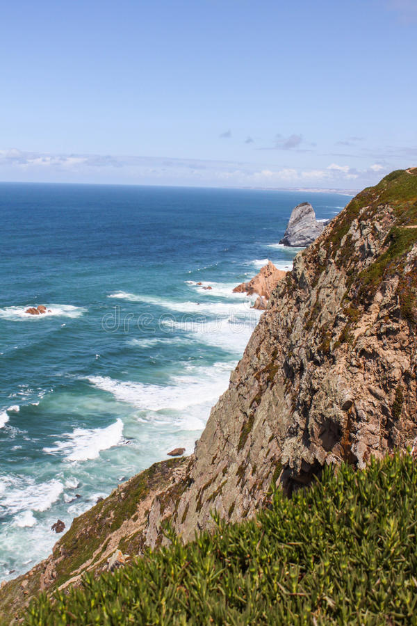 Cabo da Roca obraz royalty free