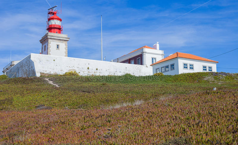 Cabo da Roca Lighthouse stock photography