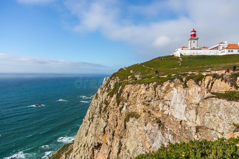 cabo da roca Portugal obraz royalty free