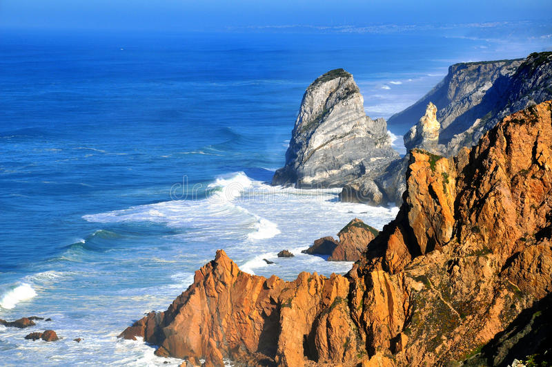 Cabo da Roca royalty free stock photography