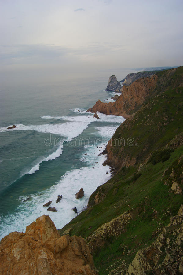 Cabo DA Roca, Portugal royalty-vrije stock foto