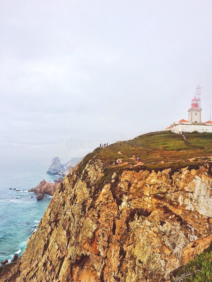 Cabo DA Roca, Portugal imágenes de archivo libres de regalías