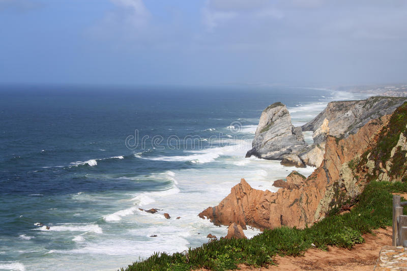 Cabo Da Roca, Portugal royalty free stock photo