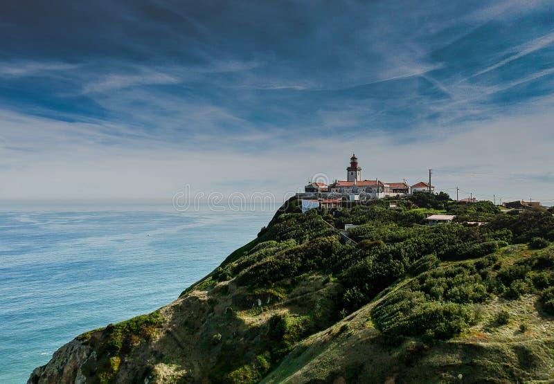 Cabo da Roca , Portugal top view stock images