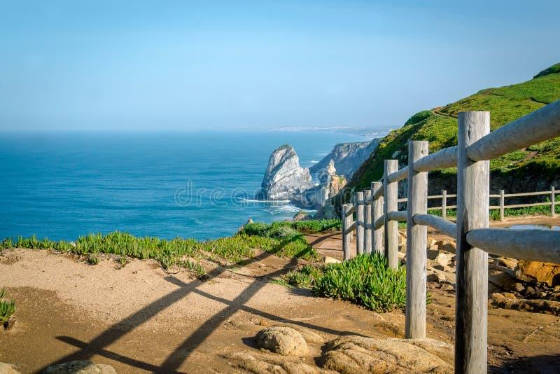 Cabo da Roca, Portugalia Europa zdjęcie stock